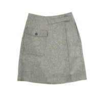 Wrap Skirt - Grey