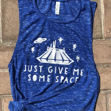 Give Me Some Space Women's Muscle Tank