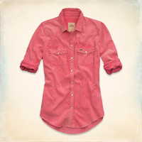 Seaside Reef Corduroy Shirt