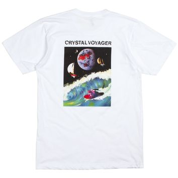 Kemado Records Crystal Voyager Mens Tee
