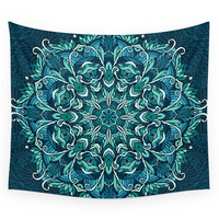 Society6 Frozen Mandala Wall Tapestry