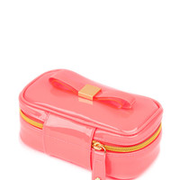 Bow jewellery case - Bright Pink | Gift Accessories | Ted Baker UK