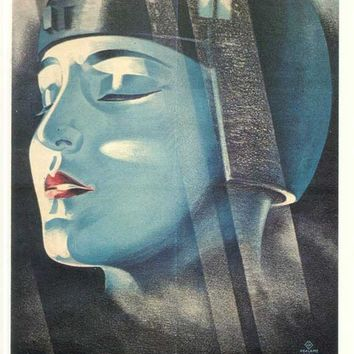 Metropolis (German) 11x17 Movie Poster (1926)