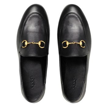ONETOW Gucci Brixton Horsebit Loafers - Farfetch