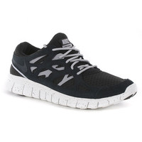 Nike Free Run + 2 Shoes - Black-Black-Wolf Grey at Urban Industry