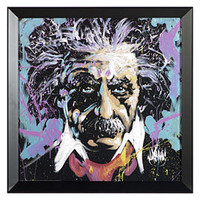 Albert Einstein by David Garibaldi | Celebrities | Art Under $100 | Art | Z Gallerie
