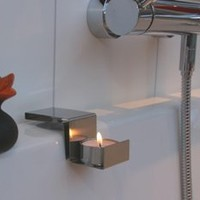 Bath-time Candle Holder - Home Storage Systems From Store