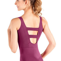 So Danca D340 Adult Tank Leotard W/ Ladder Back