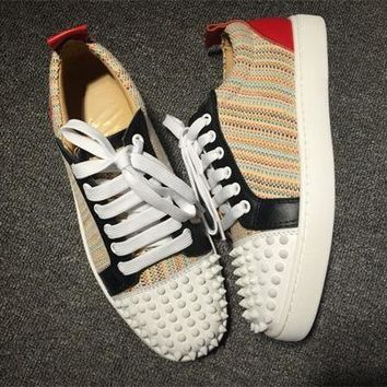 Cl Christian Louboutin Low Style #2052 Sneakers Fashion Shoes - Best Deal Online