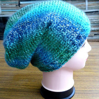Beanie Slouchy hat women handknit Fashion Winter accessories Christmas gift idea