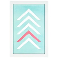 Stacked Chevron Framed Art | Shop Hobby Lobby