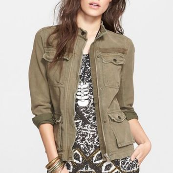 Women's Free People Rumpled Army Jacket