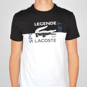 Lacoste Legend T-Shirt TH2330 - White/Black