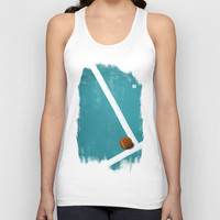 Tennis Unisex Tank Top by Matt Irving