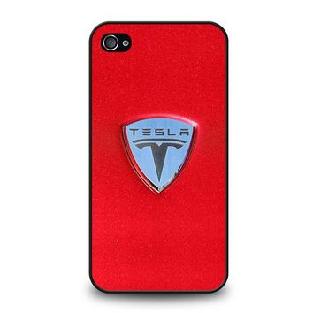 TESLA MOTOR LOGO iPhone 4 / 4S Case Cover