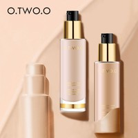 O.TWO.O Invisible Cove Foundation Make Up  Moisturizer oil control Whiteningl Waterproof Liquid Foundation Base Make Up