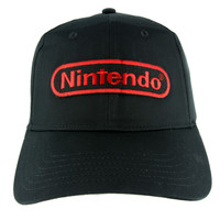 NES Nintendo Classic Hat Baseball Cap Alternative Clothing Gamer Super Mario