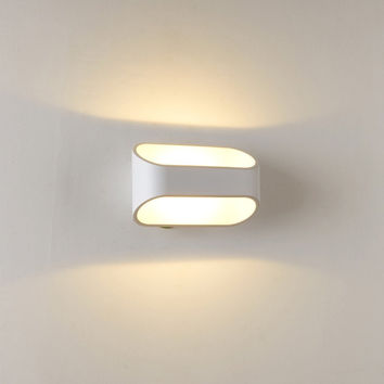 Modern Warm White LED Acrylic Wall Lamp Max. 4W Painted Finish