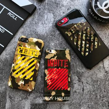 Camo Off White Phone Case
