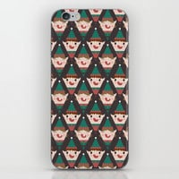 Day 22/25 Advent - Little Helpers iPhone Skin by lalainelim