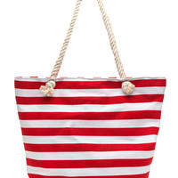 Empire Stripes Back Oversized Tote
