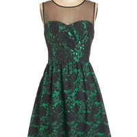ModCloth Mid-length Sleeveless A-line Mesmerizing Mademoiselle Dress