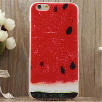 Watermelon Print iPhone 5/5S/6/6S/6 Plus/6S Plus Case Very Light Case-14
