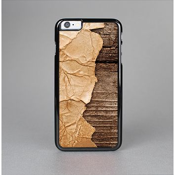 The Vintage Paper-Wrapped Wood Planks Skin-Sert for the Apple iPhone 6 Skin-Sert Case