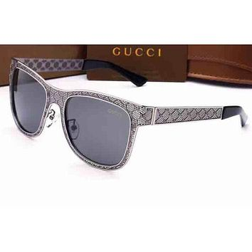 Gucci Men Fashion Casual Shades Eyeglasses Glasses Sunglasses