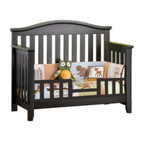 Child Craft Toddler Guard Rail for Convertible Crib (Hawthorne) Espresso