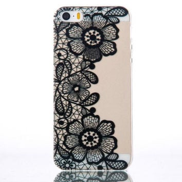 Fashion Unique Floral Mobile Phone Case For Iphone 5c 5 5s SE 6 6s 6plus 6s plus + Nice gift box!