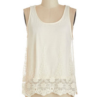 ModCloth Boho Mid-length Sleeveless Happy to Greet You Top