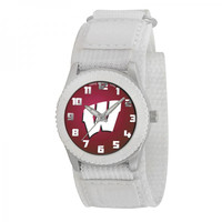 Wisconsin Badgers NCAA Kids Rookie Series Watch (White)