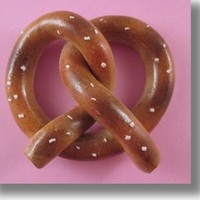 American Girl Doll Food Jumbo Pretzel by Katie's Craftations
