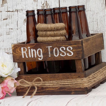 Ring Toss Game Rustic Wedding Party Game
