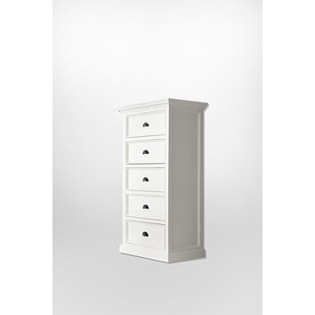 Halifax Chest of Drawers White semi-gloss