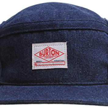 Burton Straight Pipe Hat Navy Mens Sz M/L