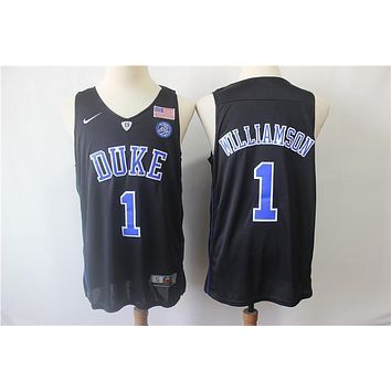Duke University 1 Zion Williamson Swingman Basketball Jersey