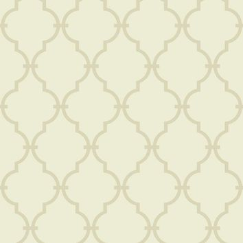 York Wallpaper KH7151 Modern Trellis