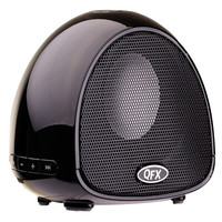 QFX BT-100 BLACK - Bluetooth Speaker with Microphone
