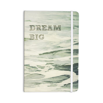 "Robin Dickinson ""Dream Big"" Ocean Bird Everything Notebook"