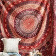 Magical Thinking Menagerie Medallion Tapestry