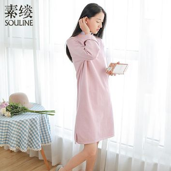 Souline 2018 Spring New Arrival Chinese Style  Women Dresses DS8149