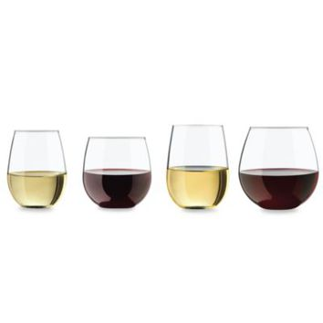 Libbey® Vineyard Reserve 8-Piece Stemless Wine Glass Set