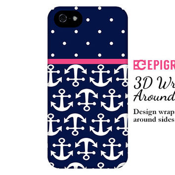 Anchors iPhone 6 case, navy iPhone 6 plus case, custom iPhone 5c case, iPhone 4s phone cases, Phone 5s case, Galaxy S5 case
