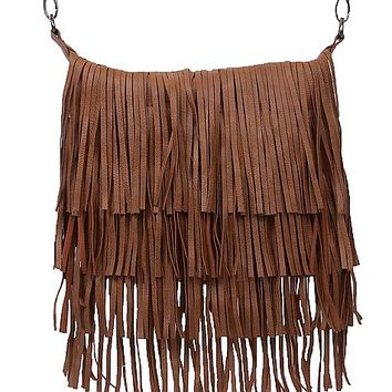 Steve Madden Fringe Crossbody Purse