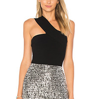 Bailey 44 Ceremonial One Shoulder Top in Black | REVOLVE