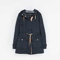 QUILTED PARKA - Coats - Woman | ZARA United States