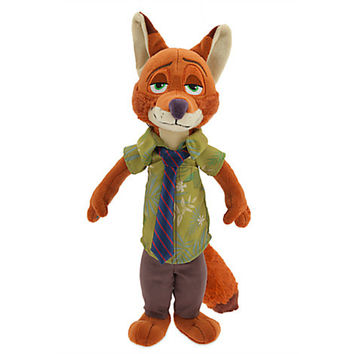 Disney - Nick Wilde Plush - Zootopia - Small - 13''