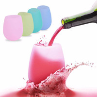 Silicone Wine Glasses - Foldable Unbreakable Drinkware